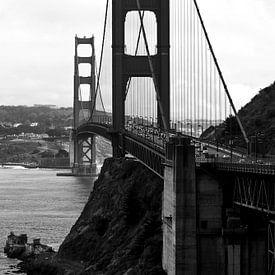 Golden Gate Bridge in San Francisco, USA sur Ricardo Bouman