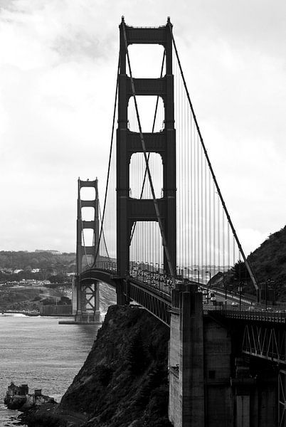 Golden Gate Bridge in San Francisco, USA van Ricardo Bouman