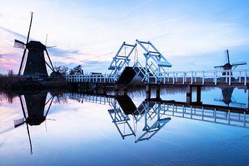 Molens op de Kinderdijk van Portrait of Holland