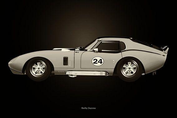 Shelby Daytona Zwart en Wit