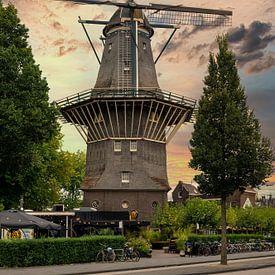 Stellingmolen De Gooyer van Foto Amsterdam / Peter Bartelings