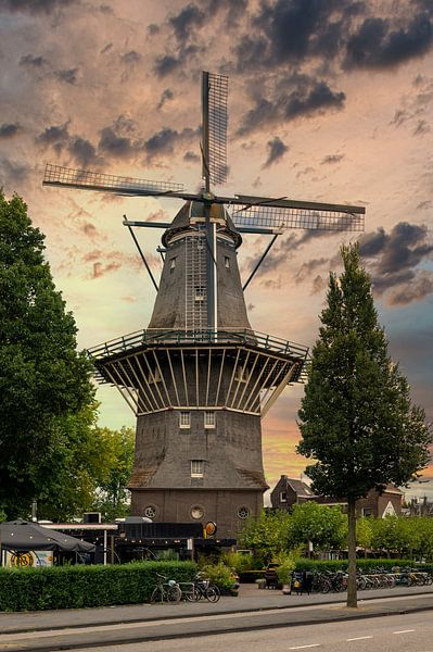 Stellingmolen De Gooyer van Foto Amsterdam/ Peter Bartelings