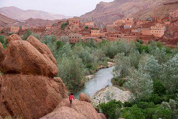 Dades vallei, Marokko van The Book of Wandering