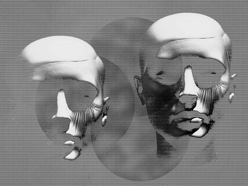 Silver heads van Gabi Hampe