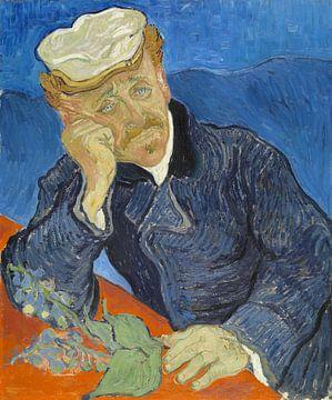 Portrait of Dr. Gachet, Vincent van Gogh sur