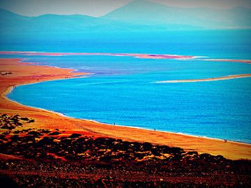 ~ Surfer Beach Fuerteventura ~ von Sandra Vollmann