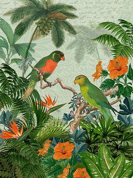 Die Ankunft im Paradiesgarten von christine b-b müller