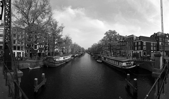 Brouwersgracht in Amsterdam van Pascal Lemlijn
