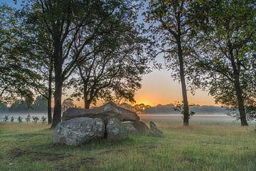 Hunebed D29 - Borger (drenthe) van Rossum-Fotografie
