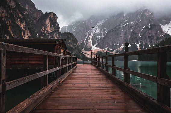 Lago di braies van michael regeer