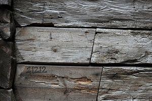 Old Wood Bryggen VII van