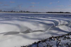 Schneewellen von Fotografiemetangie