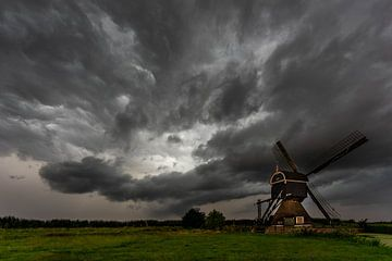 Hollandse onweersbui van Ecarna