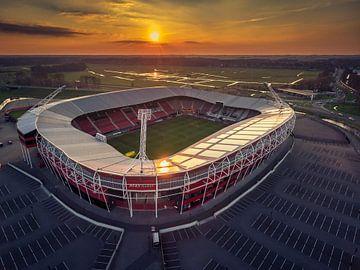 AZ Stadion Alkmaar van