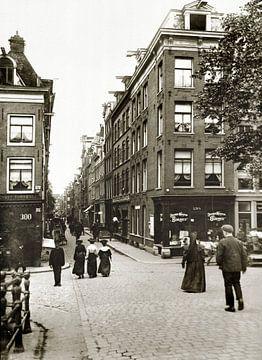 Oude foto van Amsterdam van Corinne Welp
