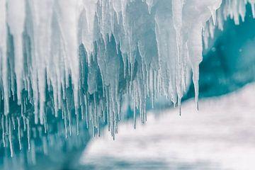 IJsstructuren Antarctica van Eefke Smets