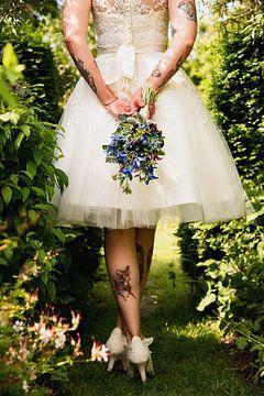 Rock and roll bride van Lindsey Post