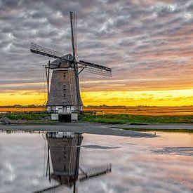 Mühle Nord, Ost. Texel. von Justin Sinner Pictures ( Fotograaf op Texel)