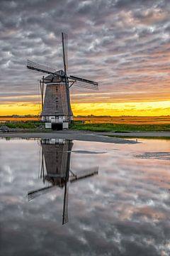 Molen t Noorden, Oost. Texel.