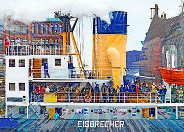 Eisbrecher Stettin von Leopold Brix