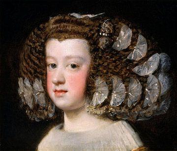 María Teresa (1638-1683), Infantin von Spanien, Diego Velázquez