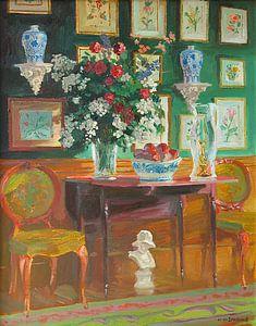 Green Chairs van William Ireland