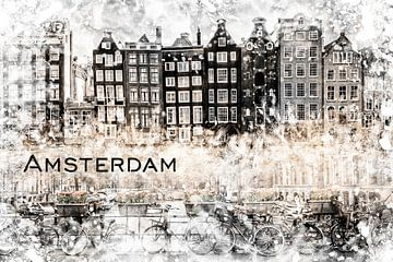 AMSTERDAM Collage van Melanie Viola