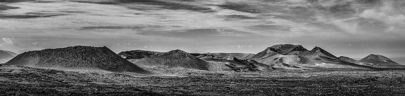 De vulkanen van Lanzarote van Jim De Sitter