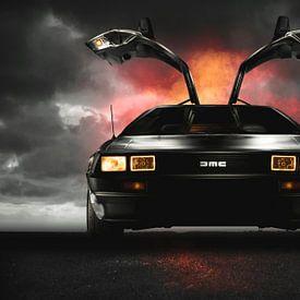 DeLorean DMC-12 - Back to the Future ! van Thomas Boudewijn