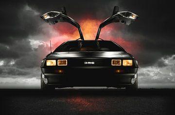 DeLorean DMC-12 - Back to the Future ! sur Thomas Boudewijn