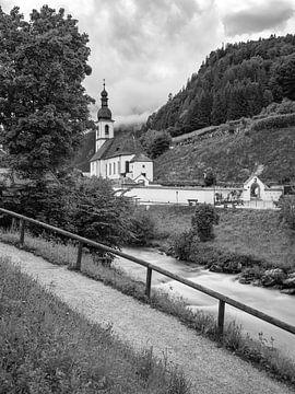 Kirche in Ramsau von Patrick van Lion