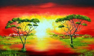 Africa sur Gena Theheartofart