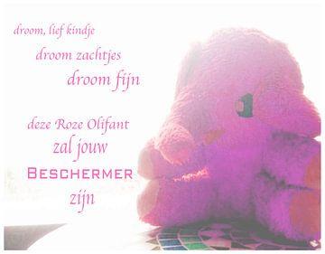 Roze olifant voor fijne dromen von Ingrid Jansen