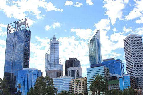 Moderne skyline in Perth, Australia