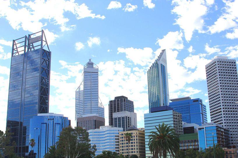 Modern stadsgezicht, Perth van Inge Hogenbijl