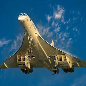 Concorde van British Airways van Gert Hilbink