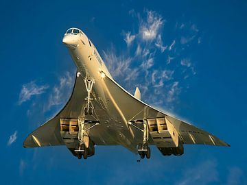 Concorde van British Airways