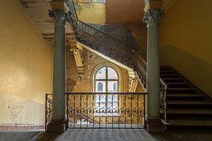 Oude verlaten villa