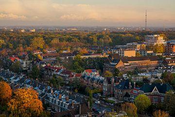Leiden richting de kust van Dirk van Egmond
