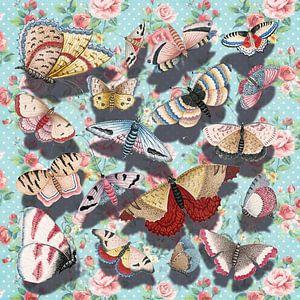 3D Butterflies van Marja van den Hurk