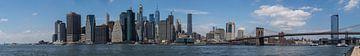 Panorama Manhattan van Hans Hoekstra
