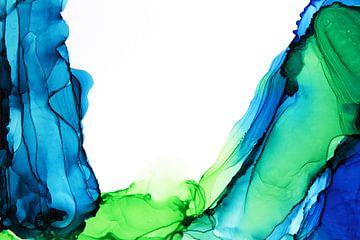 Blaue Berge/Blaue Berge/Mountains bleues von Joke Gorter