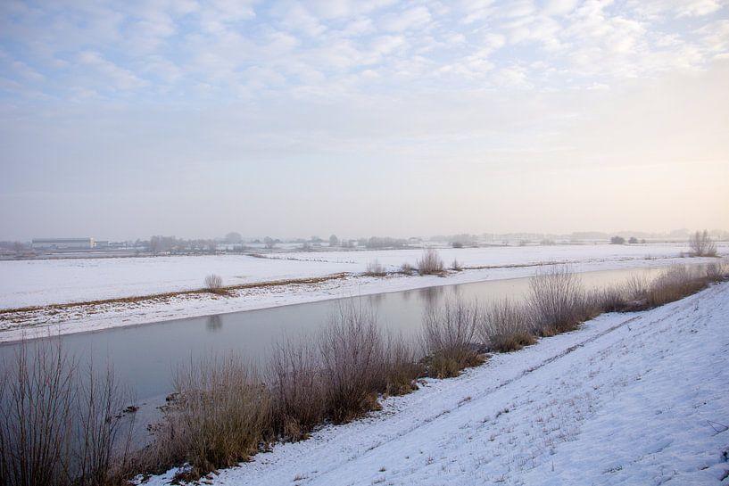 Winter in Nederland van Tess Smethurst-Oostvogel