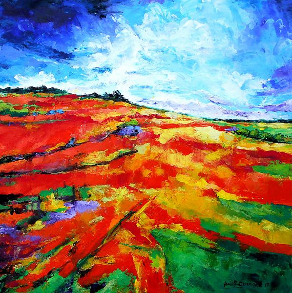 Landschaft von Eberhard Schmidt-Dranske