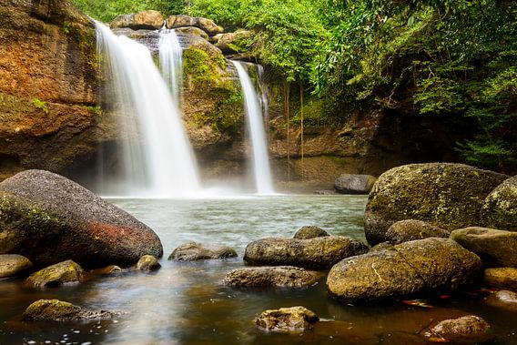 Jungle falls van Richard Guijt
