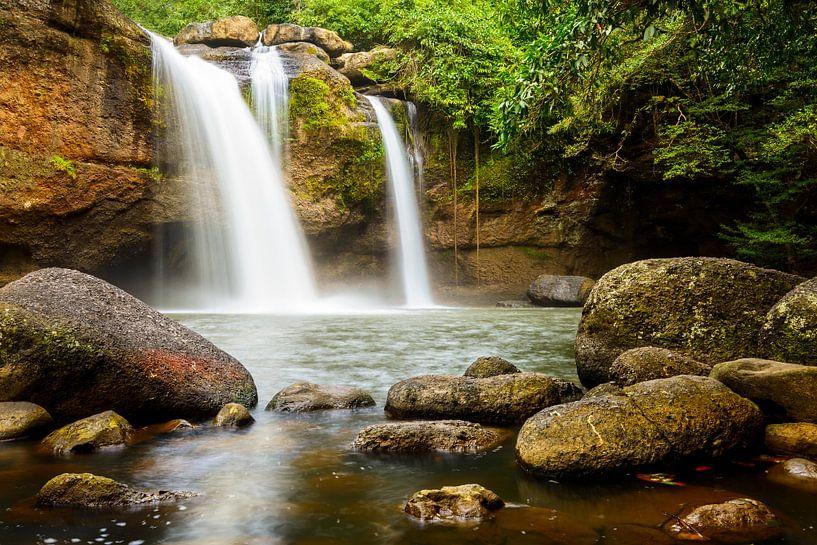 Jungle falls van Richard Guijt Photography