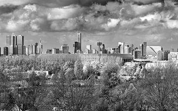 De Kuip zoomed in black and white sur Midi010 Fotografie