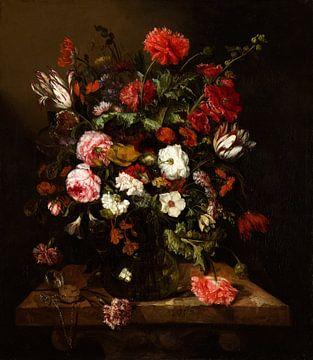 Nature morte des fleurs d'Abraham van Beijeren sur Gave Meesters