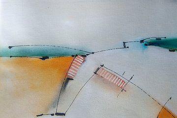 Blick durch 8 in die Dünen von Schoorl von Charles Mulder