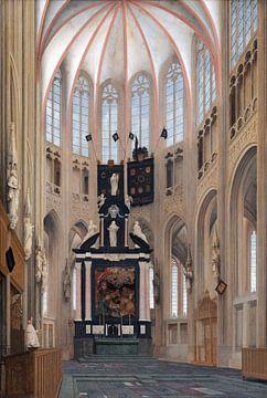s-Hertogenbosch, St. Johanneskathedrale, Pieter Jansz Saenredam - 1646